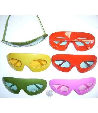 Half Mask Glasses Pink