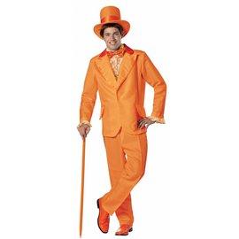 Rasta Imposta Dumb And Dumber Lloyd Christmas, Orange Tux - Adult One Size