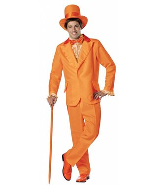 Rasta Imposta Dumb And Dumber Lloyd Christmas, Orange Tux - Adult One Size