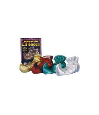 Forum Novelties Elf Shoes - Slippers Silver (C15)