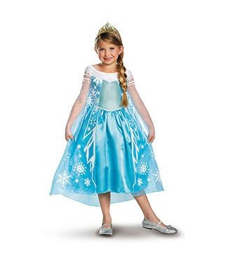 Disguise Elsa Deluxe - Child Size 4-6