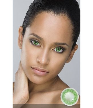Fine And Clear Emerald Green Contact Lenses (C2)
