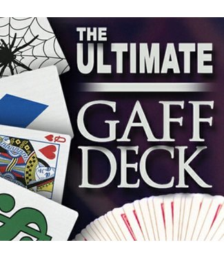 Ultimate Gaff Bicycle Deck with DVD - 3 Classic Card Tricks by Magic Makers
