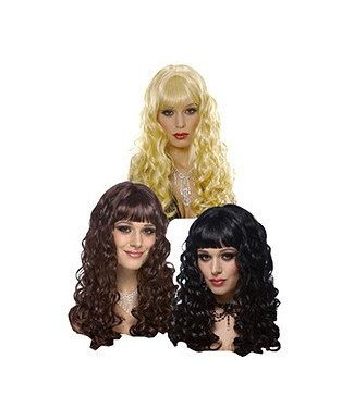 Costume Culture by Franco American Eve Black Wig