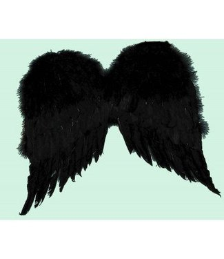 Forum Novelties Feather Wings, Black - 36 inches by Forum Novelties