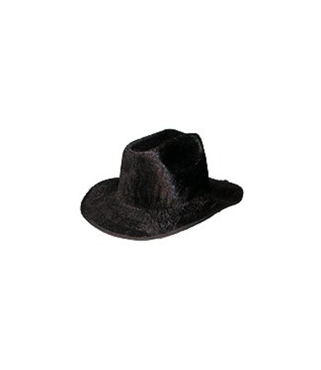 Forum Novelties Felt Cowboy Hat - Black