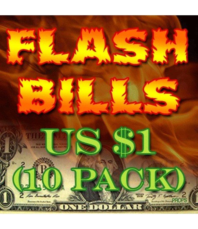 Flash Bills - Ten Pack $1.00 Denominations