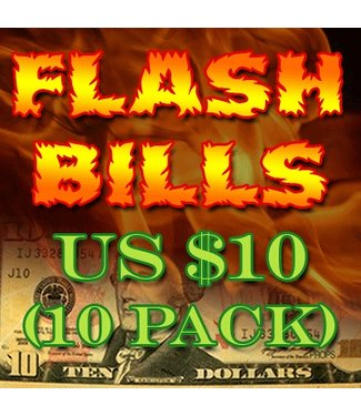 Flash Bills - Ten Pack $10.00 Denominations