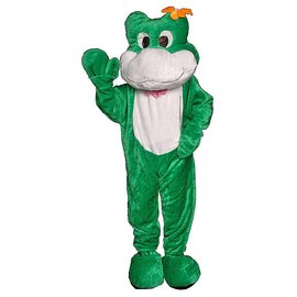Dress Up America Frog Mascot  - Adult