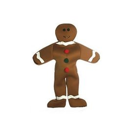 Rasta Imposta Gingerbread Man Costume - Adult One Size