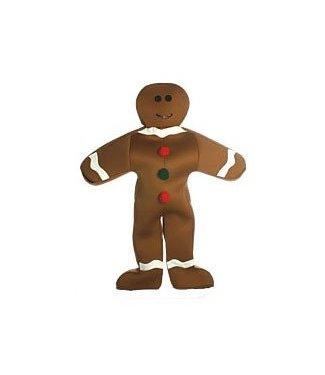 Rasta Imposta Gingerbread Man Costume - Adult One Size