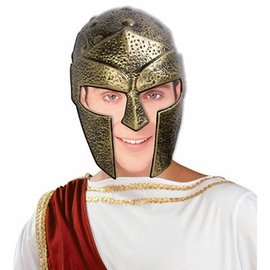 Forum Novelties Gladiator Helmet - Gold