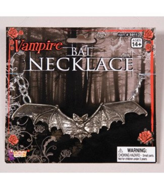 Forum Novelties Gothic Bat Necklace (C15)
