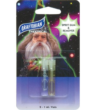 Graftobian Make-Up Company Spirit Gum and Remover Dram Combo Pack