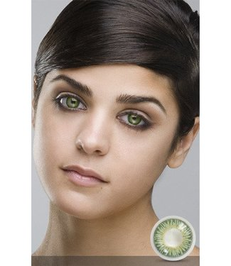 Fine And Clear Green Contact Lenses (C2)