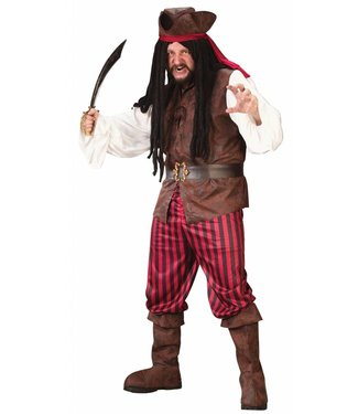 Fun World Highsea Buccaneer - Plus Size Male