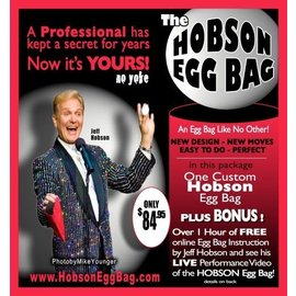 Hobson Egg Bag by Jeff Hobson - Red (M10)