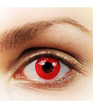 Fine And Clear Hot Red Contact Lenses