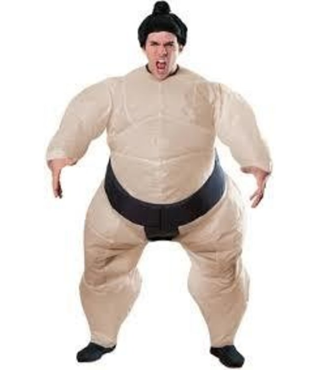 Rubies Costume Company Inflatable Sumo - One size fits most to XL