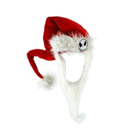 Elope Jack Skellington Santa Hat with Beard