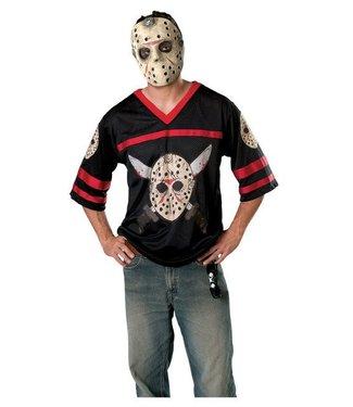 Rubies Costume Company Jason Hockey Shirt And Mask - XL 44-46