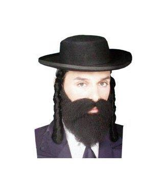 Forum Novelties Jewish Style Payis - Black