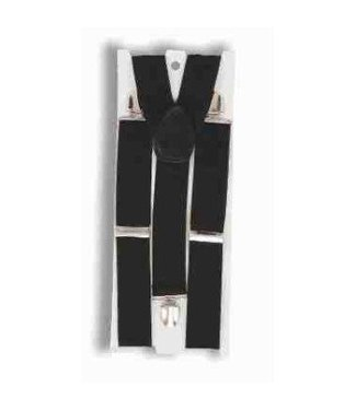 Forum Novelties Suspenders Wide - Black