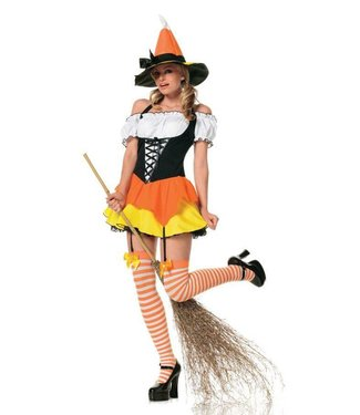 Leg Avenue Kandy Korn Witch - Adult Small 2-6