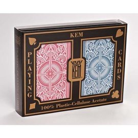 United States Playing Card Company Card KEM Arrow Red/Blue - Wide Jumbo  (M5)