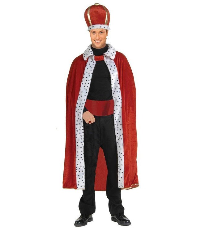 Forum Novelties King Robe And Crown - Adult One Size by Forum Novelties