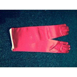 Beyco Gloves Red Elbow Length Satin by Beyco