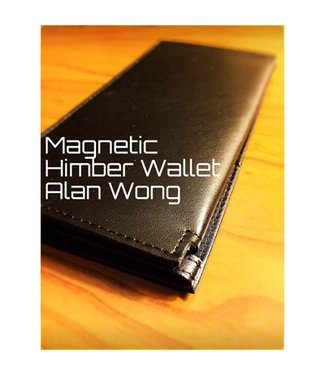 Leather Magnetic Himber Wallet by Alan Wong (M10)