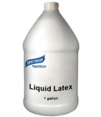 Graftobian Make-Up Company Liquid Latex Clear 1 Gallon By Graftobian