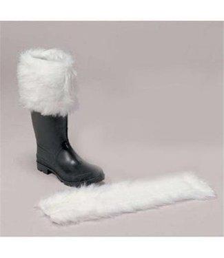 Halco Luxurious Long-Hair Santa Boot Cuff - Pair