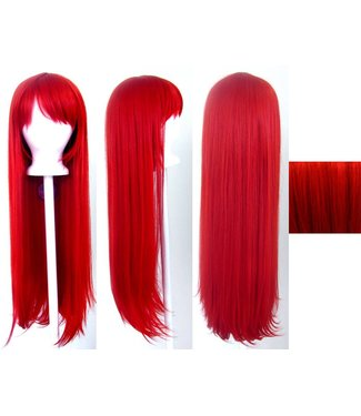 Morris Costumes and Lacey Fashions Long Pageboy, Red Wig