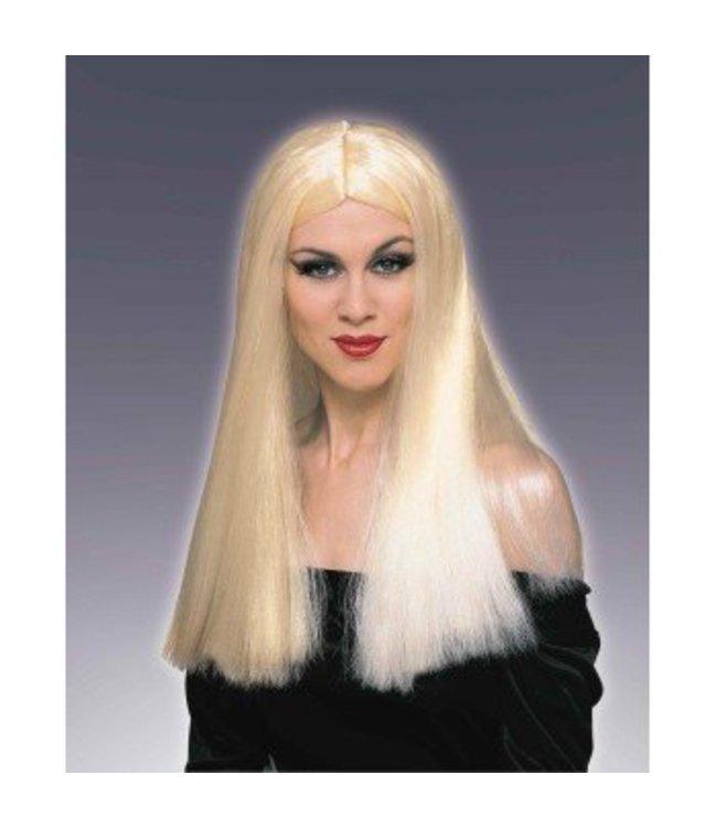 Forum Novelties Long Blonde Wig, Parted (360)