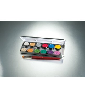 Ben Nye Lumiere Grande Colour Palette -12 Colors