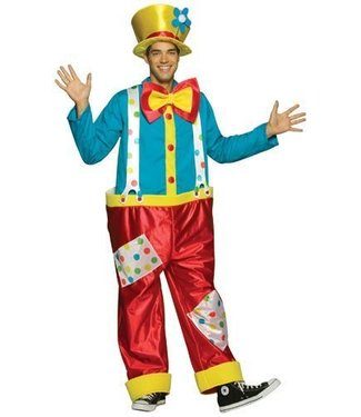 Rasta Imposta Clown male costume Adult One Size
