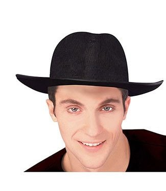 Forum Novelties Hat Man's Night Out Fedora - Black