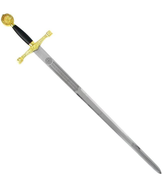 Excalibur Sword w/Plaque 46 inches by Frost Cutlery