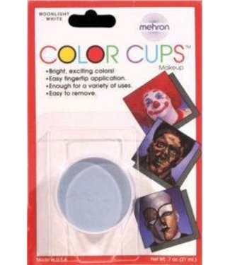 Mehron Color Cups Moonlight White