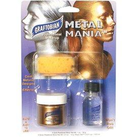 Graftobian Make-Up Company Metal Mania Make-Up Kit (Gold)