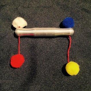 Ronjo Mini Pom Pom Stick - Aluminum by Ronjo (/1001)