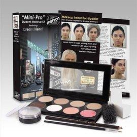 Mehron Mini-Pro Student Make Up Kit - Med/OliveMedium