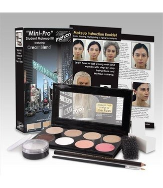 Mehron Mini-Pro Student Make Up Kit - Med/OliveMedium