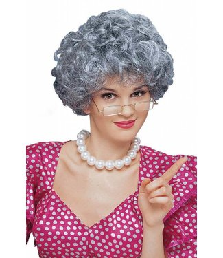 Costume Culture by Franco American Mixed Grey Mom - Wig