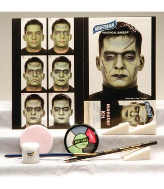Graftobian Make-Up Company Monster Theatrical Make-Up Kit (C3)