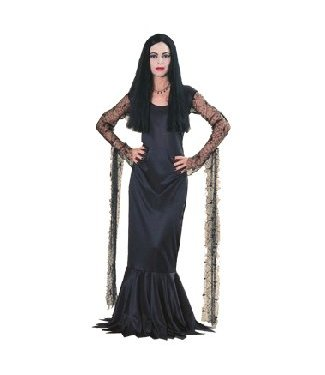 Rubies Costume Company Morticia Med 10-14