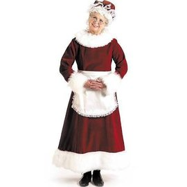 Halco Dlx Mrs. Claus - Adult Med 12-14 (/195)