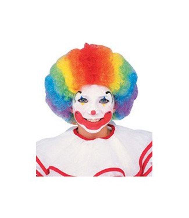 Forum Novelties Multicolor Clown Afro Wig